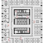 Floor plan, Image Courtesy © gmp Architekten von Gerkan, Marg und Partner