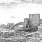 Ocho Quebradas House, 2013 - ongoing, Los Vilos, Chile. Rendering by ELEMENTAL.