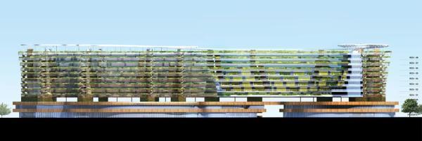 Elevation, Image Courtesy © SPARK architects