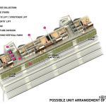 Unit arrangement 5th floor, Image Courtesy © SPARK architects