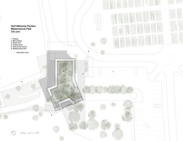 Site plan, Image Courtesy © Cardin Ramirez Julien Inc.