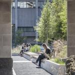 Looking south through the Pavilion, Image Courtesy © Steven Evans / © PLANT Architect Inc.