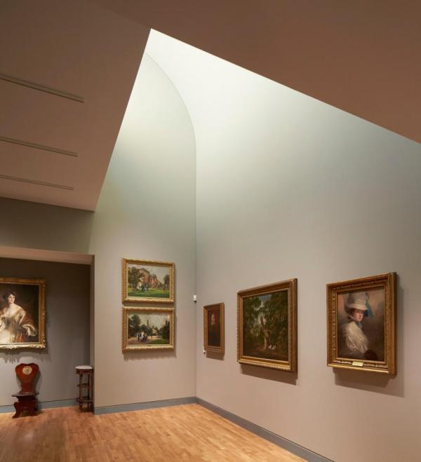 The Treasury Gallery, The Harley Gallery, Welbeck , Image Courtesy © Hufton+Crow