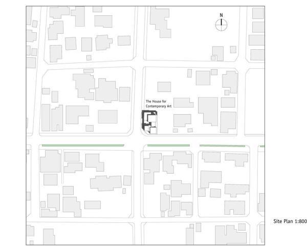 Site Plan 1:800, Image Courtesy © F.A.D.S