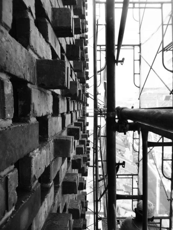 Clay brick wall, Image Courtesy © Staek Photography