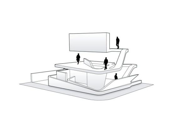 ground floor plan, Image Courtesy © ggarchitects
