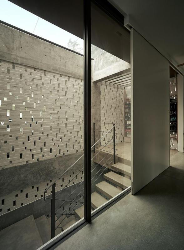 Perforated/ Kalsa brick wall, Image Courtesy © Keat Song (Staek Photography)