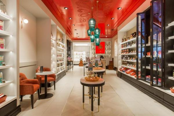 One of the three new hospitality area 'niches' within the store, Image Courtesy © Kate Berry