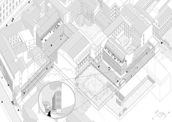 General plan, Image Courtesy © Tomas Ghisellini Architetti