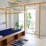 Bed space / Stretch the net to the top of the frame, Image Courtesy © PEAK STUDIO