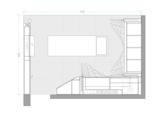 Plan, Image Courtesy © ggarchitects