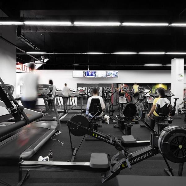 Cardio area, Image Courtesy © Invisible Gentleman