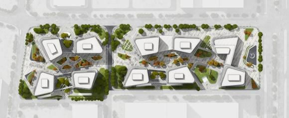 Site plan, Image Courtesy © gmp