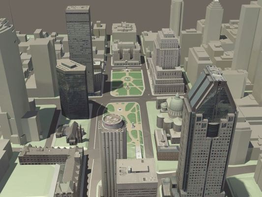 Bentley 3D City GIS Provides Secure Centralized Database for Rapid Access to Intelligent 3D Data.