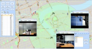 Integrated Intelligent Video Surveillance providing video surveillance capability to dispatchers at a control center or triggering alarms from video analytics.