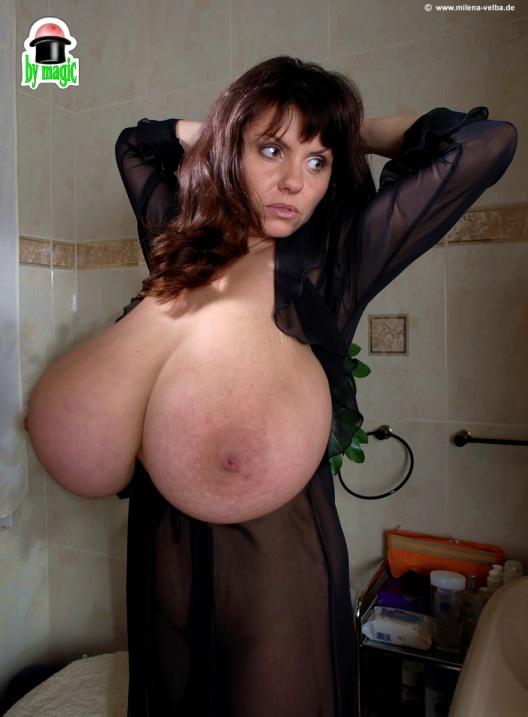 unreal morphed black tits