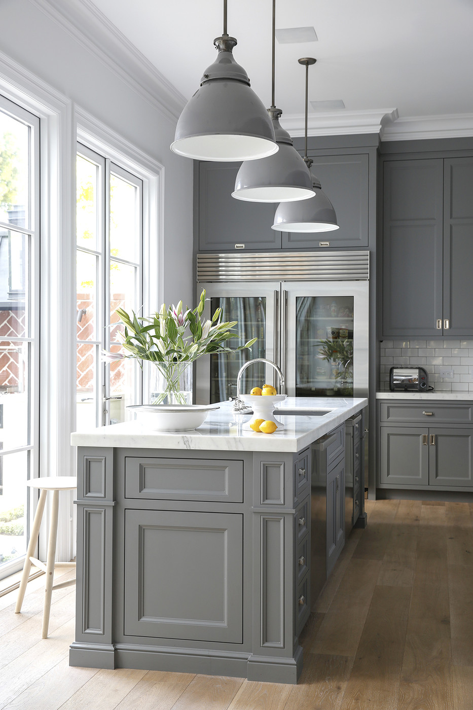 kitchen cabinets light gray light gray kitchen cabinets Kitchen Cabinets Light Gray The Only Shade of Gray Cool Kitchen Ideas Lonny The