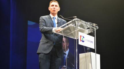 Le chef progressiste-conservateur, Patrick Brown, prépare déjà 2018.  Archives