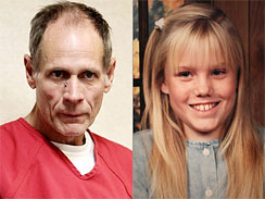 Phillip Garrido, left, is charged with the kidnap and rape of Jaycee Lee Dugard.