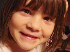 This photo provided by the family show Somer Thompson, 7, who was abducted in Orange Park, Fla. And found in a Georgia landfill.