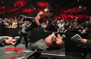 Royal-Rumble-Brock-Lesnar-Seth-Rollins-Announce-Table