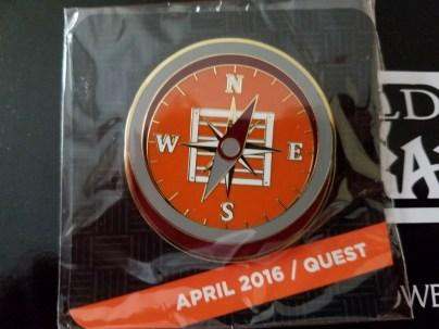 The April Quest Pin