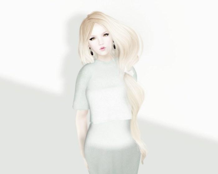 Jersey Dress Mint  Front1