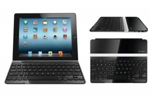 Le Logitech Keyboard Cover pour iPad 2 et suivant.