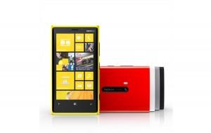 Nokia Lumia 920: de belles couleurs.