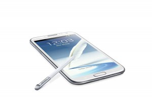 Samsung Galaxy Note II.