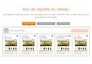 LTE: le test comparatif d'Orange.