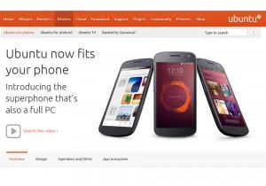 Un smartphone Ubuntu au CES.