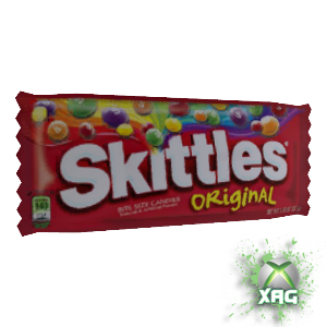 Skittles Candy Pack XBOX Avatar Prop FREEBIE US Dashboard (1/2)