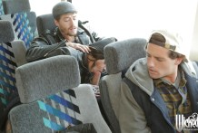 mamada en el bus