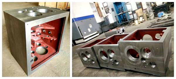 machined turning machines gear boxes