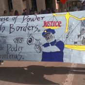 San Antonio calls for an end to police brutality with march and die-in