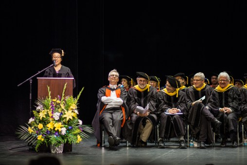 UC Berkeley MCB Graduate Commencement Ceremony 2016 - Student Speaker: Cindy Wang