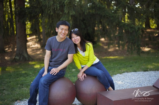 Hann Kun Boston deCordova Sculpture Park Engagement-17
