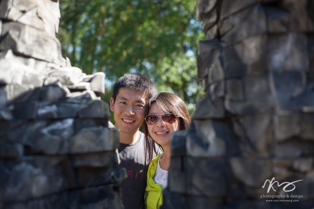 Hann Kun Boston deCordova Sculpture Park Engagement-2