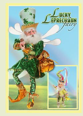 Lucky Leprechaun Fairy and End of the Rainbow Elf