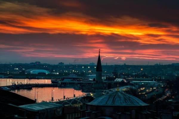 Закат над Босфором Леонид Штандель