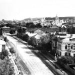 Костромская улица с высоты церкви Константина и Елены 1916 г.