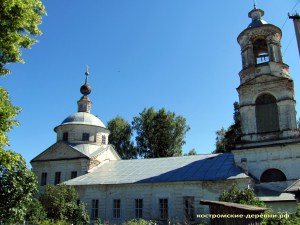Преображенская церковь села Шартанова