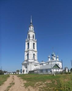 Успенская церковь села Тетеринского