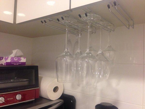 ワイングラス 収納 吊り下げ 100均