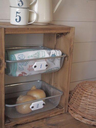 キッチン 棚 収納 100均