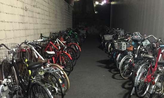 円山公園駐輪場
