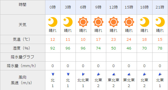 京都競馬場,天気