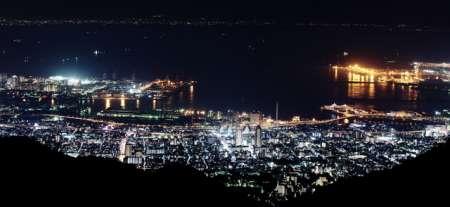 摩耶山の夜景 掬星台の行き方