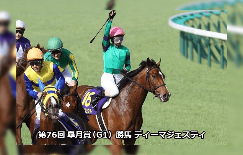 第76回皐月賞(G1)勝馬ディーマジェスティ